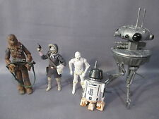 "Star Wars Legacy Collection ""RECON PATROL ON HOTH"" Probe Droid R5-M2 K-3PO Lot"
