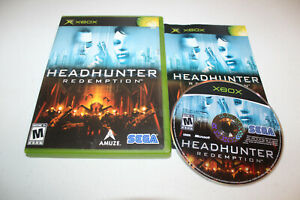 Headhunter: Redemption (Microsoft Xbox, 2004) European Version, Complete, NTSC