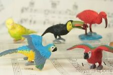 """1.5"""" Exotic Bird Set - Set of 12 - 1.5"""" Tall"""