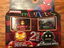 Marvel Minimates Extremis Iron Man and Titanium Man 2 Pack