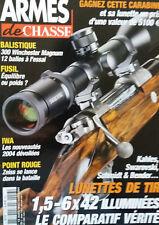 ARMES DE CHASSE - 13 - 2004 - iwa - zeiss - lunettes de tir - fusil - swarovski