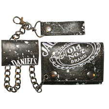 Official Jack Daniel's Painted - Trifold Chain Wallet