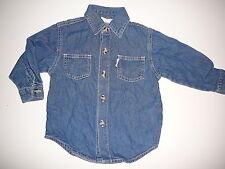 Mikado tolles Jeans Hemd Gr. 80 !!