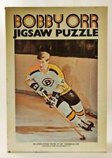 Vintage 1970 NHL Hockey Bobby Orr Jigsaw Puzzle ~ 500 Pieces Complete