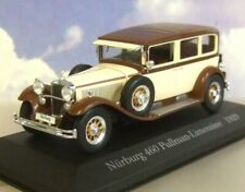 DIECAST 1/43 1929 MERCEDES-BENZ TYP NURBURG 460 PULLMAN-LIMOUSINE CREAM & BROWN