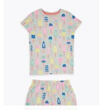 Marks and Spencer New girls 12 - 18 months pyjamas short tops and bottoms