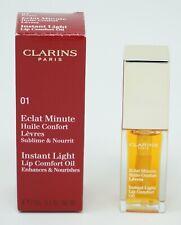 Clarins Instant Light Lip Oil 01 Honey