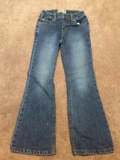 Girls The Children's Place Flare Jeans Size 6X/7 Sparkle Adjustable Waist