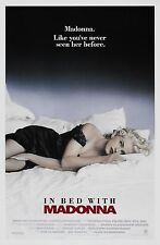 IN BED WITH MADONNA (1991) ORIGINAL MOVIE POSTER  -  ROLLED