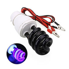 DC12V 20W UV Ultraviolet Fluorescent Blacklight Light Bulb Lamp w/Clip