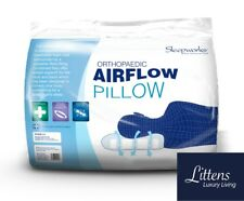 Orthopaedic, Airflow, Breathable, Support, Foam Core, Hollowfibre Pillow UK Made