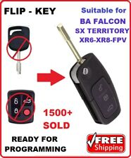 Fo21 - Remote car key suitable for Ford Falcon Transponder BA XR6 SX Territory