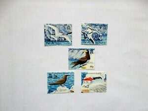 ASCENSION ISLAND  2005 Birdlife int'l III Seabirds U/M  Sg921/25