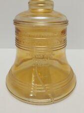 VINTAGE 1976 BICENTENNIAL BARTLETT-COLLINS GLASS LIBERTY BELL COOKIE JAR