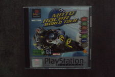 Jeu Sony PS1 : Moto Racer world tour - complet