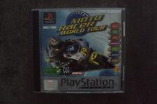 Jeu Sony PS1 : Moto Racer world tour - complet