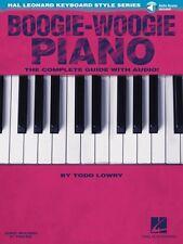 Boogie-Woogie Piano Hal Leonard Keyboard Style Series Keyboard Instruc 000117067