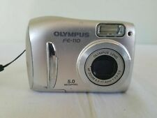 Olympus FE FE-110 5.0MP Digital Camera - Silver *Fine/tested*