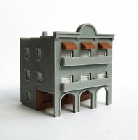 Outland Models Train Layout City Classic 3-Story Arcade Building Z Scale 1:220