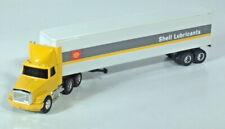 """Ertl White GMC Aero Shell Oil Lubricants Semi Truck 10.75"""" 1:64 Scale Model Rare"""