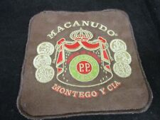 Vintage Macanudo Dominican Republic Cigars Cloth Embroidered Patch