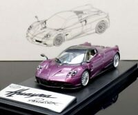 Pagani Huayra Roadster Violet 1:43 Model LCD Models