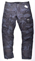 G-STAR RAW,Rovic 3D Straight Tapered Asfalt,W34 L34 Cargohose Stretch Camouflage