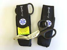 10 x Paramedic Tuff cut scissors with personalised cordura belt pouch