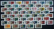 CLAN TARTANS and Coats of Arms 98 year old SILK cards issued in 1922