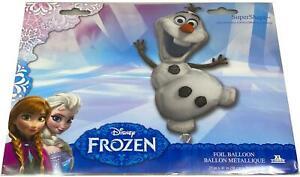 Disney Frozen Super Shape Balloon Olaf Huge 104cm Air or Helium Amscan
