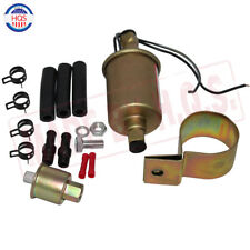 E8012S 12V ELECTRIC FUEL PUMP WITH INSTALLATION KIT FOR Ford Cadillac Jeep new