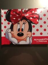Disney Autograph and Photo Book NEW - Minnie Mouse -