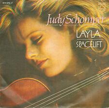 "JUDY SCHOMPER - Layla (VINYL SINGLE 7"" VIOLIN COVER ERIC CLAPTON SONG)"