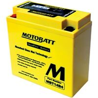 New Motobatt Battery For Yamaha FJR1300,A 1300cc 03-14 YT14B-BS YT14B-4 MBT14B4