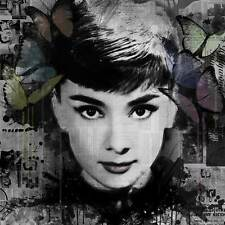 VeeBee Ghosts: Audrey Hepburn signed limited edition print