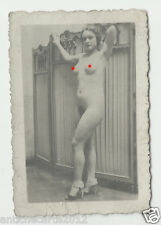 1019 FOTOGRAFIA NUDO ANNI 20/30 LITTLE PHOTO BEACH NUDE NAKED PINUP AMATEUR