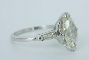 Woman's Platinum Solitaire Diamond Engagement Ring!