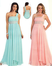 Elegant Dress Pageant prom Cocktail homecoming Formal Gown low Back Chiffon 4~26