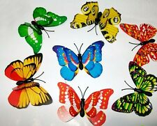 Lot 40 beautiful lovely butterfly magnet fridge refrigerator magenets home decor