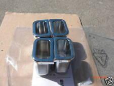 BMW E38 OEM CHROME DOOR KNOB BASE 740iL 750iL 740i 740 730iL 728iL 740d 730d 730