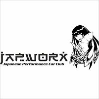 125cm x 56cm JAPWORX LARGE GEISHA GIRL CAR SIDE STICKER jdm manga decal anime