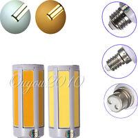 1/5x E27 E14 B22 7W COB Chip 108 LED Pure/Warm White Light Corn Bulb Lamp 110V