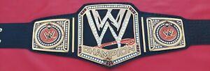 WWE Big Logo Scratch Logo Championship Belt Adult