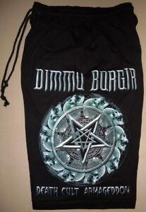 Dimmu Borgir Death Cult Armageddon Cotton Shorts Sweatpants Black Metal Band New
