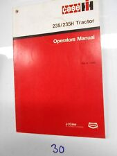 Case Ih 235 235H Tractor Operator'S Owner'S Manual