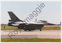 Colour print of Netherlands Air Force F16A J013 at RAF Waddington in 1999