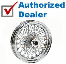 Chrome 16 X 3 80 Spoke Rear Wheel Rim 1984-99 Harley Softail Dyna Sportster FXR