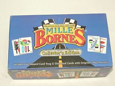 Mille Bornes Classic Auto Race Card Game Collectors Edition - Complete