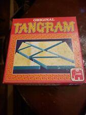 Vintage ORIGINAL TANGRAM CHINESE PUZZLE GAME  1984