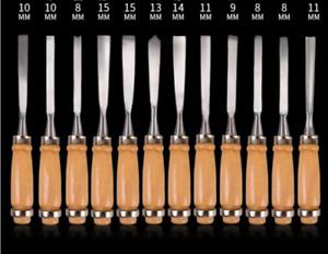 12pcs Knives Graver Luthier Violin Guitar Woodworking Tools Free Bag